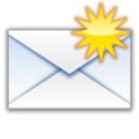 128x128px size png icon of Status mail unread new