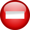 128x128px size png icon of Status user busy