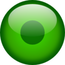 128x128px size png icon of Status user online