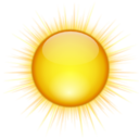 128x128px size png icon of Status weather clear