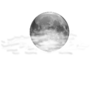 128x128px size png icon of Status weather few clouds night