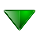 128x128px size png icon of actions arrow down