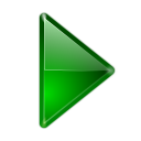 128x128px size png icon of actions arrow right