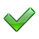 128x128px size png icon of actions dialog ok apply