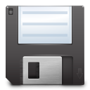 128x128px size png icon of actions document save