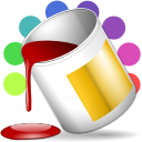 128x128px size png icon of actions fill color