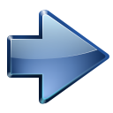 128x128px size png icon of actions go next
