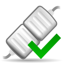 128x128px size png icon of actions network connect