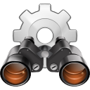 128x128px size png icon of actions system search