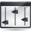 128x128px size png icon of actions view media equalizer