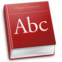 128x128px size png icon of apps accessories dictionary