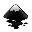 128x128px size png icon of apps inkscape
