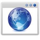 128x128px size png icon of apps internet web browser
