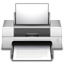 128x128px size png icon of apps preferences desktop printer