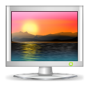 128x128px size png icon of apps preferences desktop wallpaper
