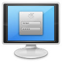 128x128px size png icon of apps preferences system login