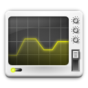 128x128px size png icon of apps utilities system monitor