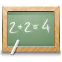 128x128px size png icon of categories applications education school