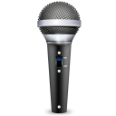 128x128px size png icon of devices audio input microphone