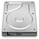 128x128px size png icon of devices drive harddisk