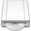 128x128px size png icon of devices drive optical