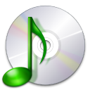 128x128px size png icon of devices media optical audio
