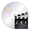 128x128px size png icon of devices media optical video
