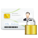 devices secure card Icon