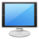 128x128px size png icon of devices video display