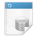 128x128px size png icon of mimetypes application vnd ms access