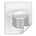 128x128px size png icon of mimetypes application vnd oasis opendocument database