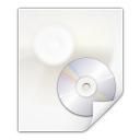 128x128px size png icon of mimetypes application x cd image