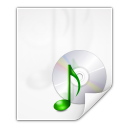 128x128px size png icon of mimetypes application x cda