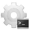 128x128px size png icon of mimetypes application x executable script