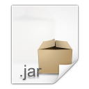 128x128px size png icon of mimetypes application x java archive