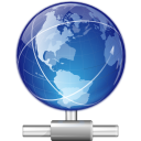 128x128px size png icon of mimetypes application x smb workgroup