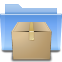 128x128px size png icon of places folder tar