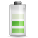128x128px size png icon of status battery 060