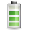 128x128px size png icon of status battery 080