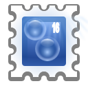128x128px size png icon of status mail sent