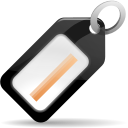 128x128px size png icon of status mail tagged