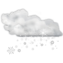 128x128px size png icon of status weather snow