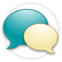 128x128px size png icon of Messaging