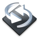 128x128px size png icon of Settings Backup Sync