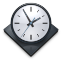 128x128px size png icon of Settings Clock