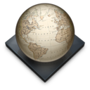 128x128px size png icon of Settings Regional