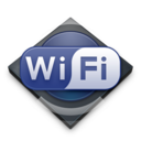 128x128px size png icon of Settings Wi Fi