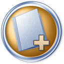 128x128px size png icon of Toolbar folder add