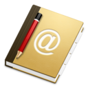128x128px size png icon of Applic Address Book