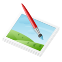 128x128px size png icon of Applic Paint
